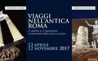 Roma: roma  fori imperiali  visita  archeologi