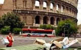 Roma: pd  roma  rifiuti  raggi  m5s  raggi