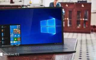 Microsoft: windows 10 windows 10 s