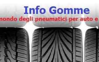 Automobili: gomme  pneumatici