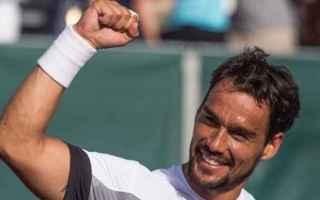 Tennis: fognini  tennis  roma  murray