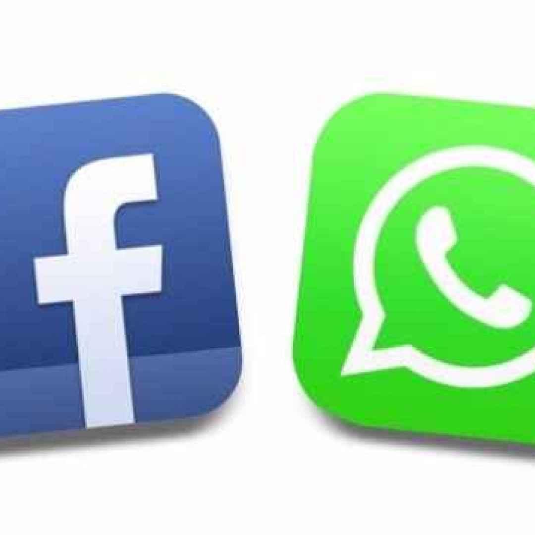 facebook  whatsapp  applicazioni