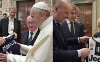 Coppa Italia: juventus lazio papa finale coppa italia