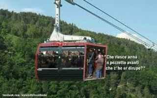 Roma: roma  funivia  trasporto pubblico