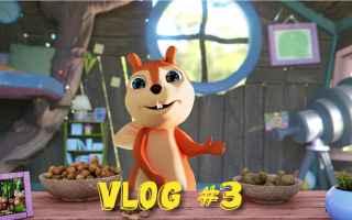 Video divertenti: cartoni animati  scoiattoli  bambini