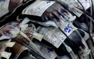 dal Mondo: croce rossa  donazione sangue  usa