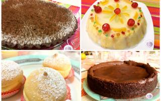 Ricette: dolci  pasticceria  feste