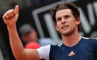 Tennis: tennis grand slam thiem internazionali
