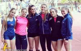 Sport: staffette  liguria  atletica  borghi