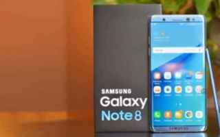 Cellulari: galaxy  note 8  samsung