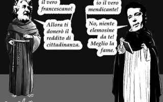 Satira: marcia  cittadinanza
