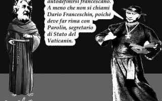 Satira: beppe grillo  cardinale parolin