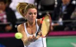 Tennis: camila giorgi  wta  vesnina
