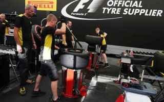 Formula 1: f1  pirelli  pressione gonfiaggio