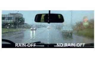 Automobili: rain off  parabrezza  arexons