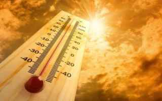 estate  meteo  caldo  sole  agosto