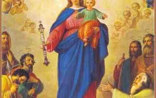 Religione: maria ausiliatrice  mediatrice  gesù