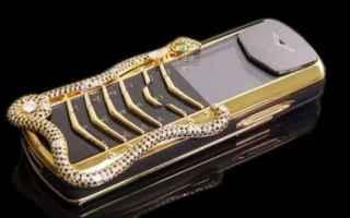 Cellulari: vertu  smartphone  extralusso