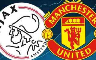 Europa League: ajax  manchester united