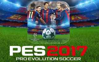 Mobile games: android iphone pes 2017 calcio konami