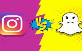 App: instagram  snapchat  apps  features