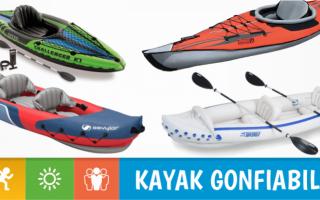 Giochi: Kayak e canoe gonfiabili: i migliori 10 in circolazione
