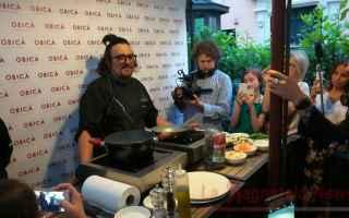 Roma: Alessandro Borghese nello show cooking a Roma