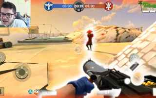 Mobile games: blitz brigade  sparatutto  android  fps