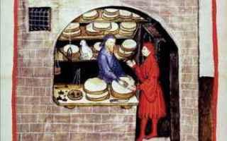 Storia: medioevo formaggio mestieri