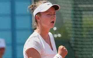 Tennis: tennis grand slam bertens norimberga