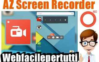 az screen recorder app android