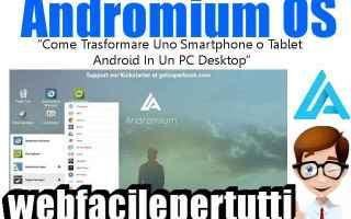App: andromium os android app