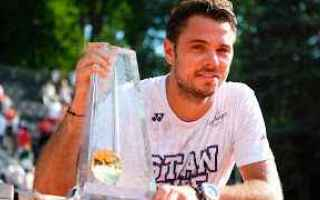 Tennis: tennis grand slam ginevra wawrinka