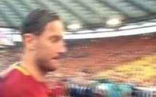 Serie A: totti roma calcio serie a  addio calcio