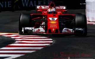 Formula 1: vettel  ferrari  montecarlo