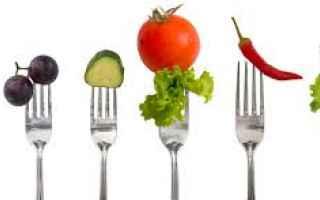 Alimentazione: dieta vegana vegan verdure