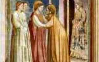 Religione: vergine maria  elisabetta  gesù  arte