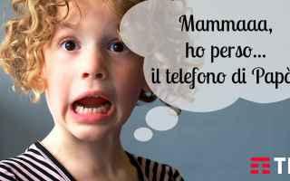 Cellulari: tecnologia  bambini  tim