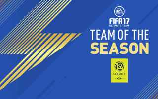 Console games: fifa 17  tots  ligue 1