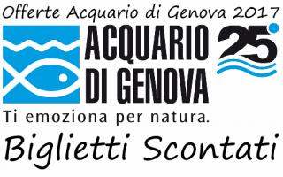 acquario di genova offerte risparmio