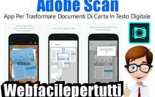 App: app scennar adobe scan