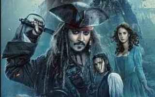 Cinema: film pirati dei caraibi  johnny depp