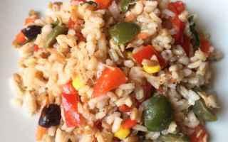 Ricette: insalata  cereali  estate