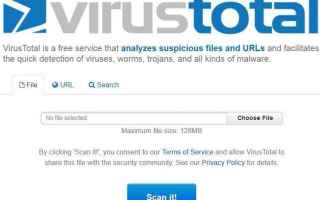 Sicurezza: virus  scansione antivirus