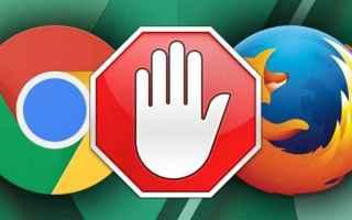 Browser: rimuovere  annunci  adblock