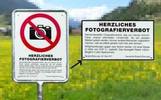 Foto: svizzera  fotografia  divieto