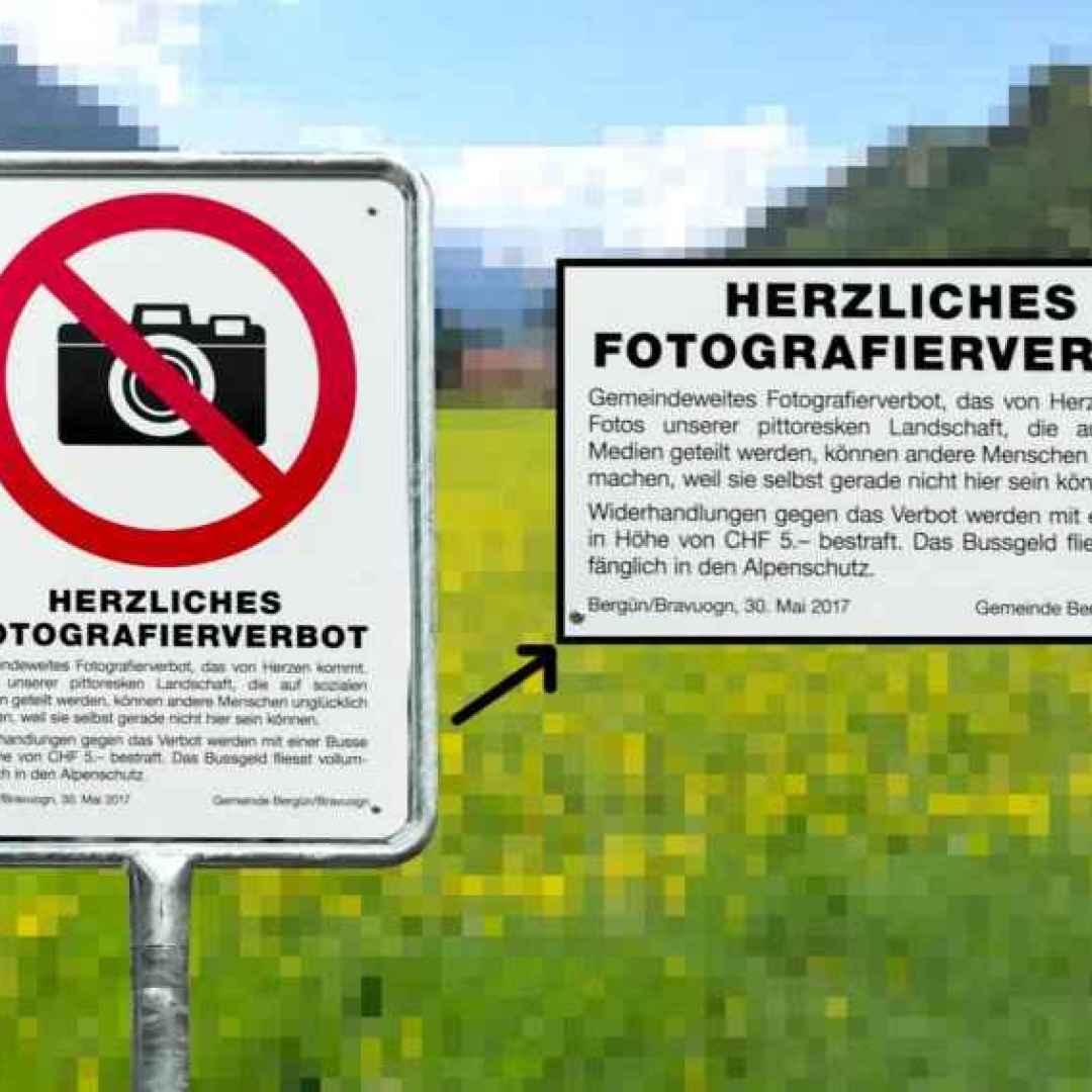 svizzera  fotografia  divieto