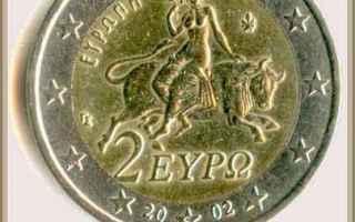 mitologia  moneta  taso  tiziano  toro