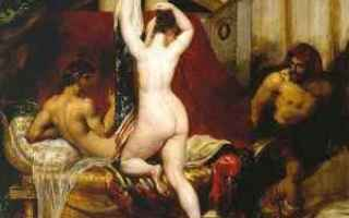 Arte: nudo femminile  pittore  etty  studi