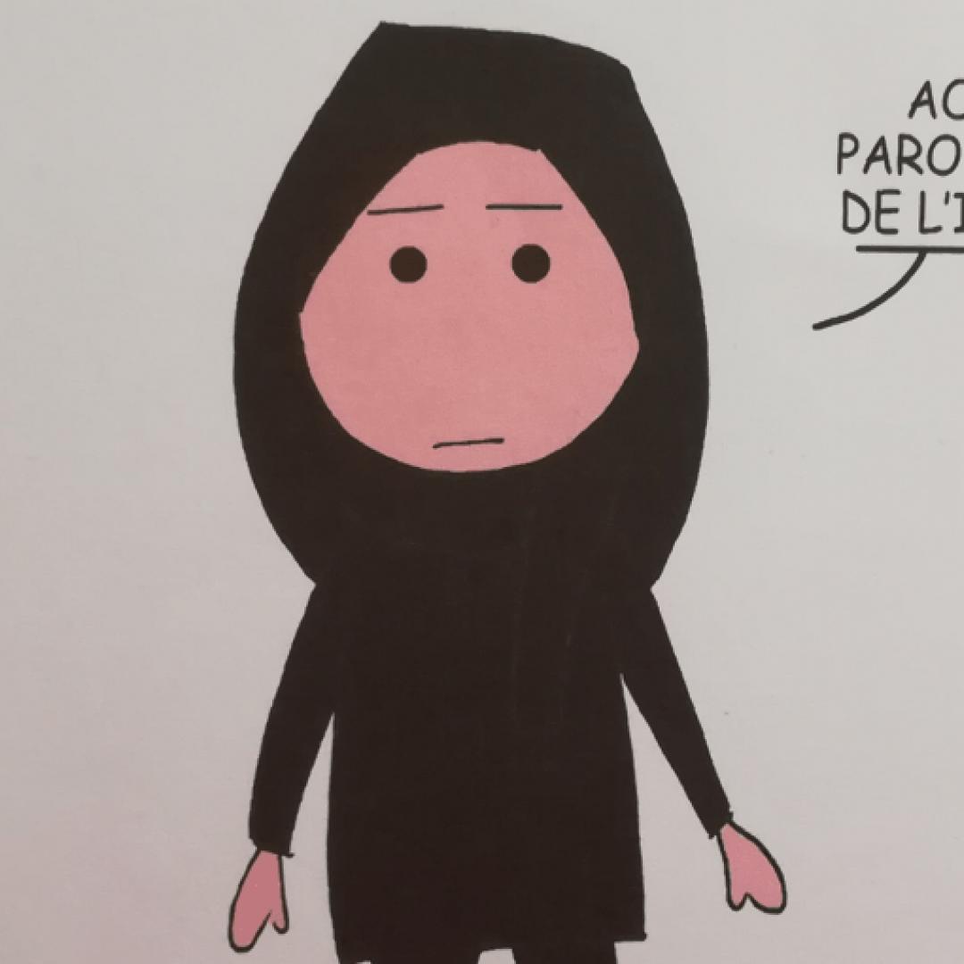 islam  donne  fumetto